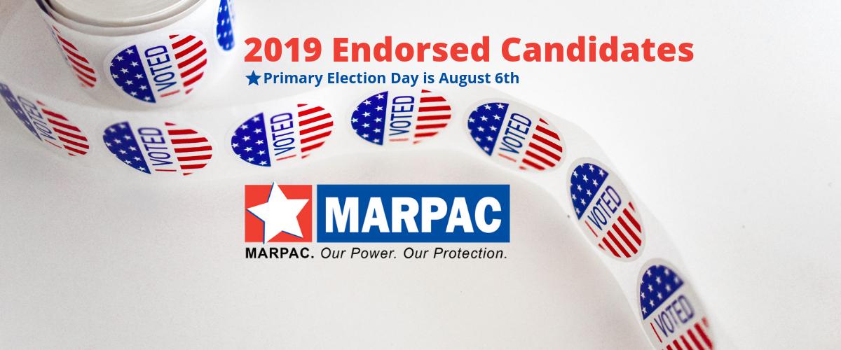 2019 endorsed candidates